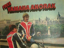 1976 77 YAMAHA FS1 E DX 596   MAGAZINE ADVERT 2